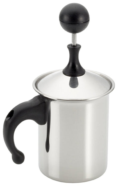 Frabosk Frothing Pitcher for Stove Top - (6 Cups / 32oz)
