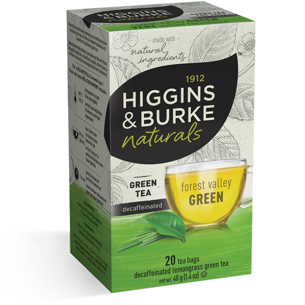 Higgins & Burke Forest Valley Green Decaffeinated Tea (120 Tea Bags)