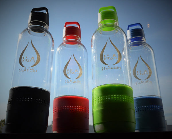 H2Audio Musical Hydration Bottle Speaker