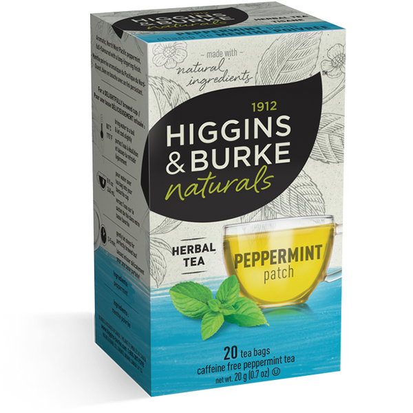 Higgins & Burke Peppermint Patch Herbal Tea (120 Tea Bags)