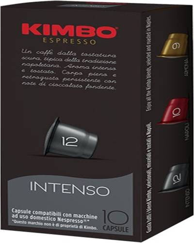 Kimbo Intenso Espresso Capsules for Nespresso (100 Units)