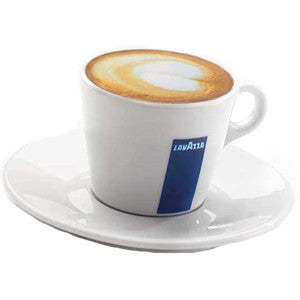 LavAzza Porcelain Cappuccino Cups American Style (Set of 6)