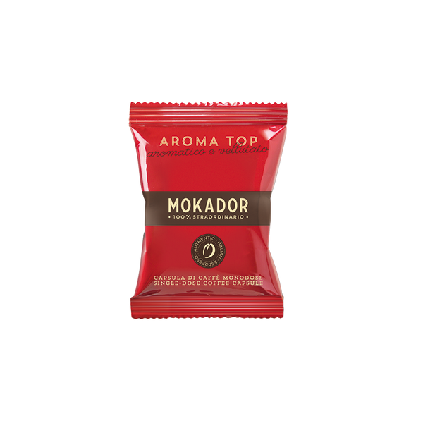 Mokador Aroma Top Espresso Cartridges (100 Units)