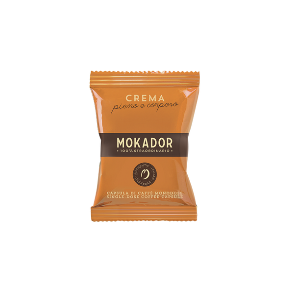 Mokador Crema Espresso Cartridges (100 Units)