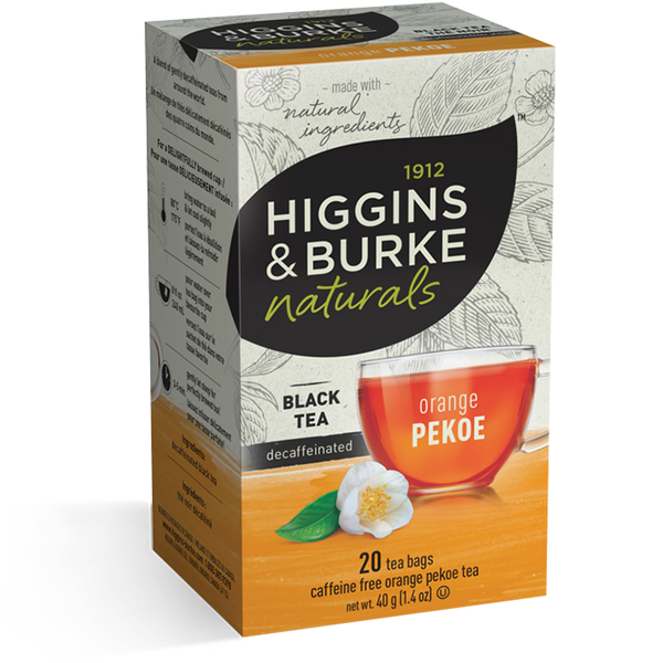 Higgins & Burke Orange Pekoe Decaffeinated Tea (120 Tea Bags)