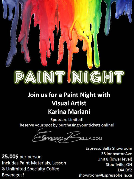 Paint Night Workshop Admission
