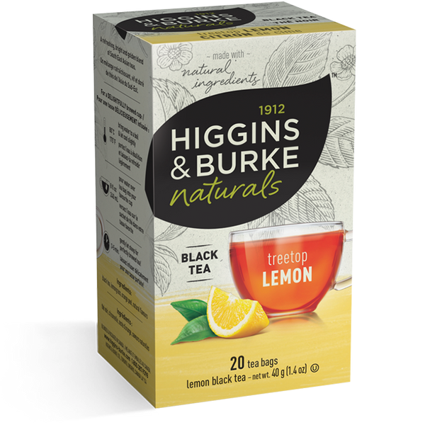 Higgins & Burke Treetop Lemon Tea (120 Tea Bags)