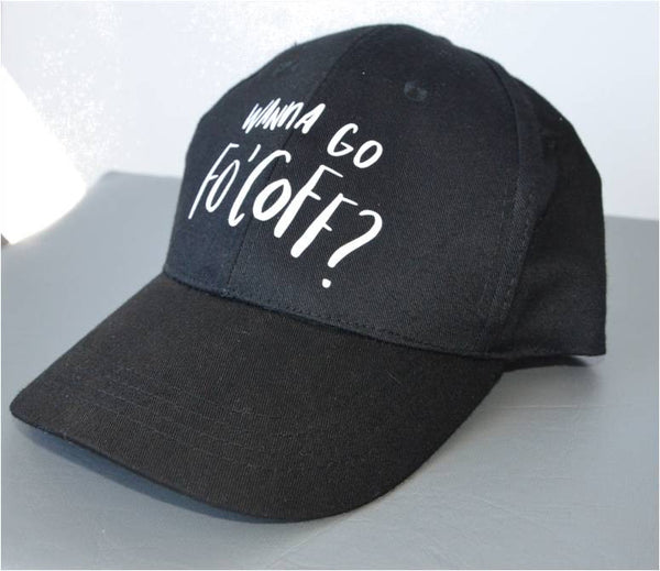 """Wanna Go Fo' Coff?"" Hat"
