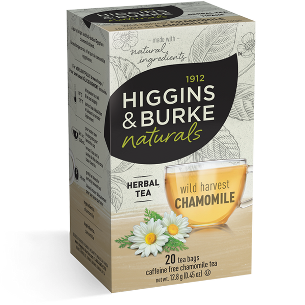 Higgins & Burke Wild Harvest Chamomile Herbal Tea (120 Tea Bags)