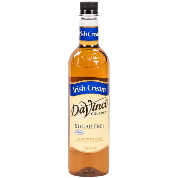 DaVinci Gourmet Irish Cream Sugar Free Flavoured Syup- 750ml