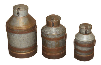 Iron Milk Pot (3 Pieces)