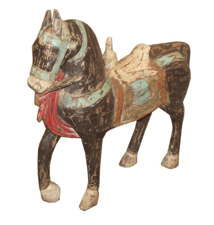 Painted Wooden Horse