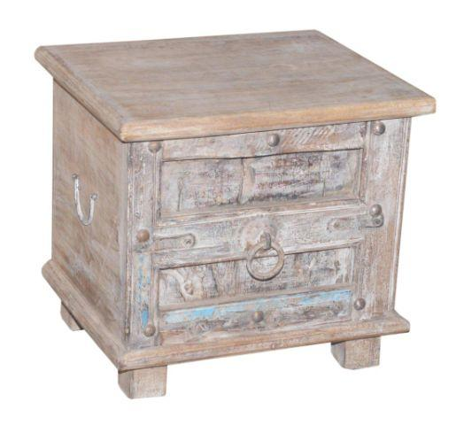 Small Wooden Trunk with One Door