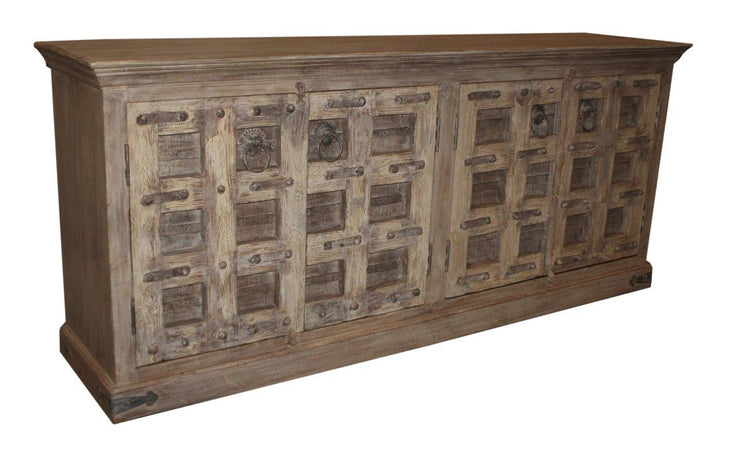 Wooden Cabinet with Four Doors