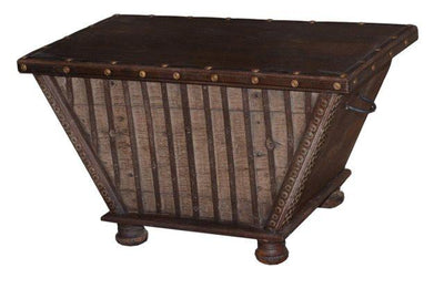 Wooden Trapezoid Shaped Trunk