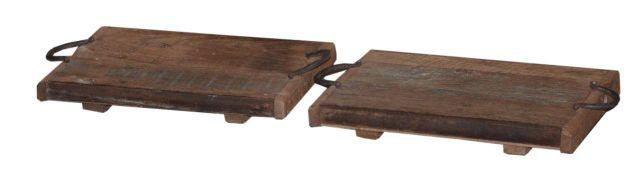 Wooden Bajot Table Base