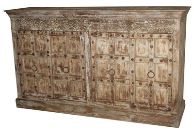 Wooden Sideboard with 4 Doors
