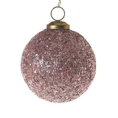 Glass Melange Ornament