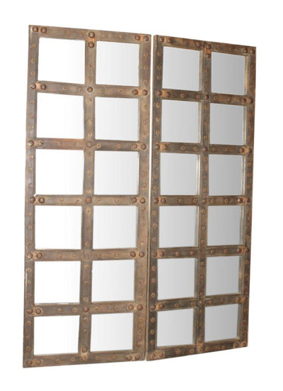 Wooden Glass Mirror Frame