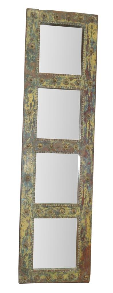 Colorful Wooden Mirror Panel