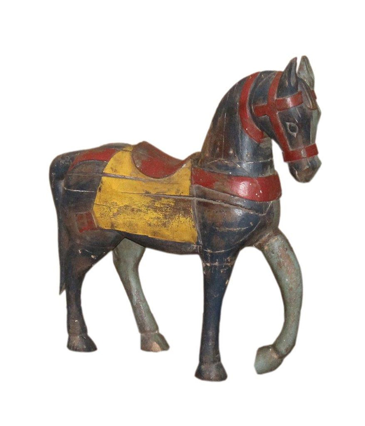 Colorful Wooden Horse
