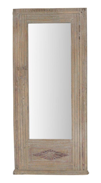 Light Wooden Mirror Frame