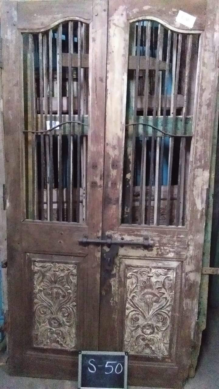 Wooden Jali Door
