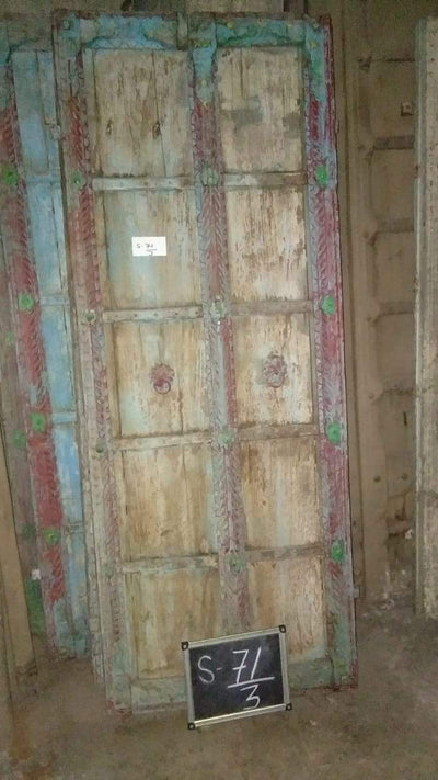 Colorful Wooden Door