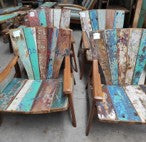 Recycled Boatwood Adirondak Chair