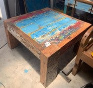 Recycled Boatwood Coffee Table