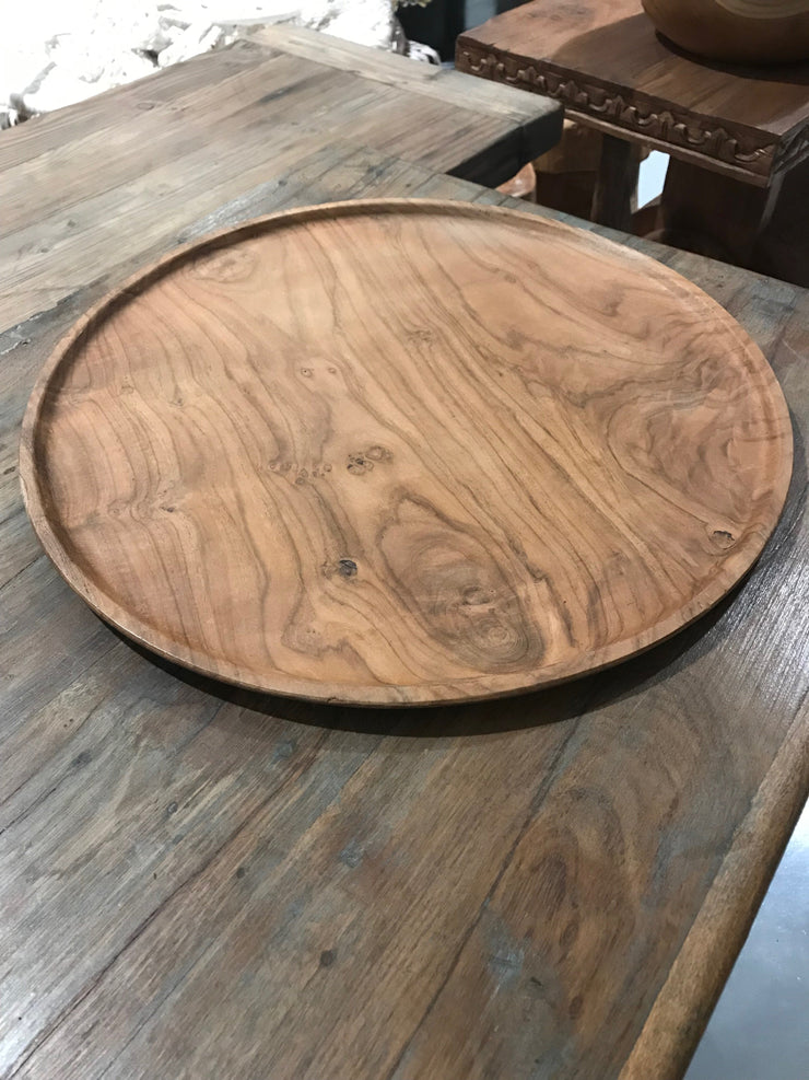 Extra Large Wooden Plate