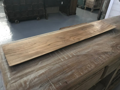 Long Rectangular Wooden Plate