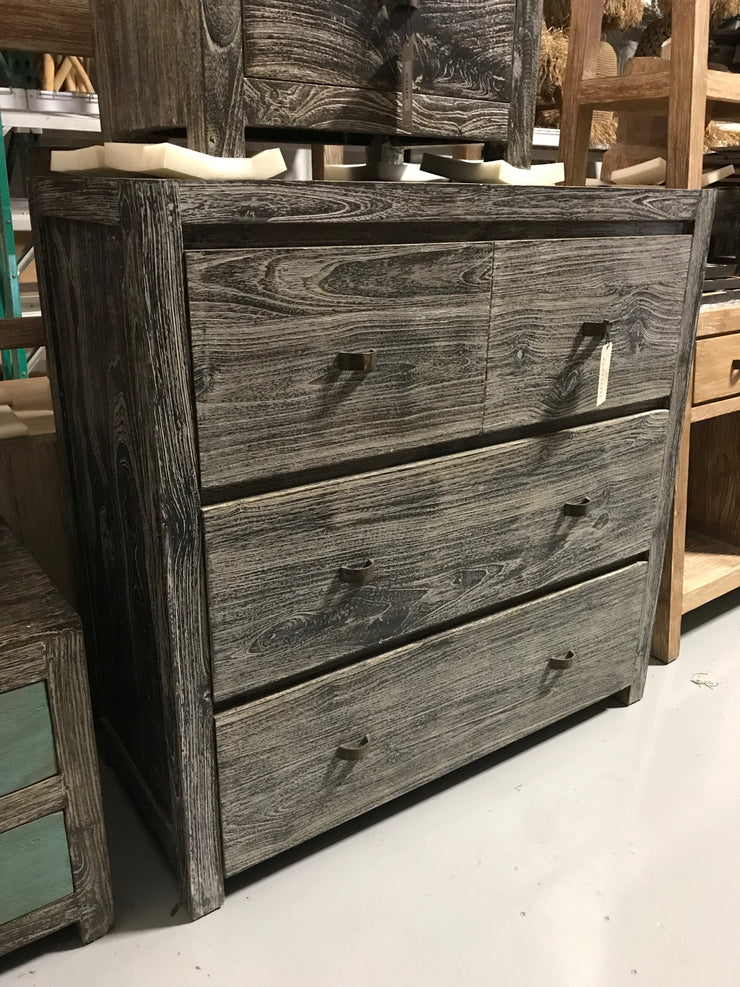 Wooden Dresser with Four Drawers
