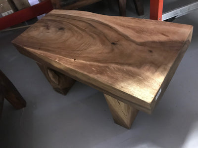 Small Teak Wooden Coffee Table