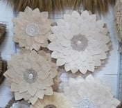 Flower Leaf Wall Hanging