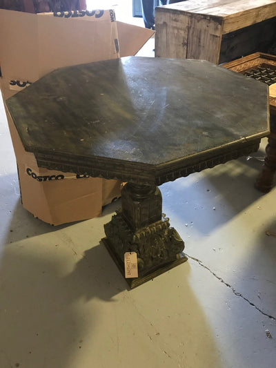 Octagonal Wooden Dining Table