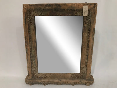 Medium Mirror with Wooden Frame