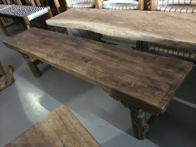 Skinny Wooden Bench