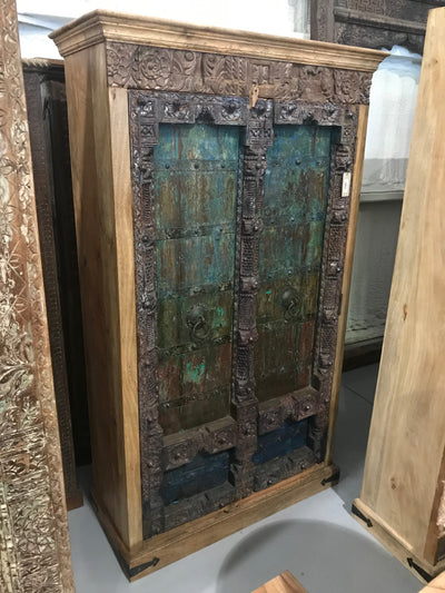 Colorful Woodel Almirah Cabinet with Two Doors