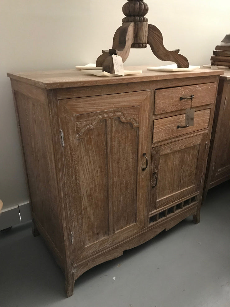 Wooden Sideboard with Two Drawers and Two Doors