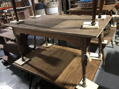 Rectangular Small Wooden Dining Table