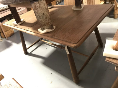 Large Rectangular Wooden Dining Table