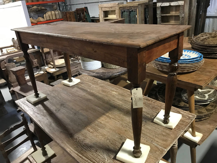 Long Wooden Side Table