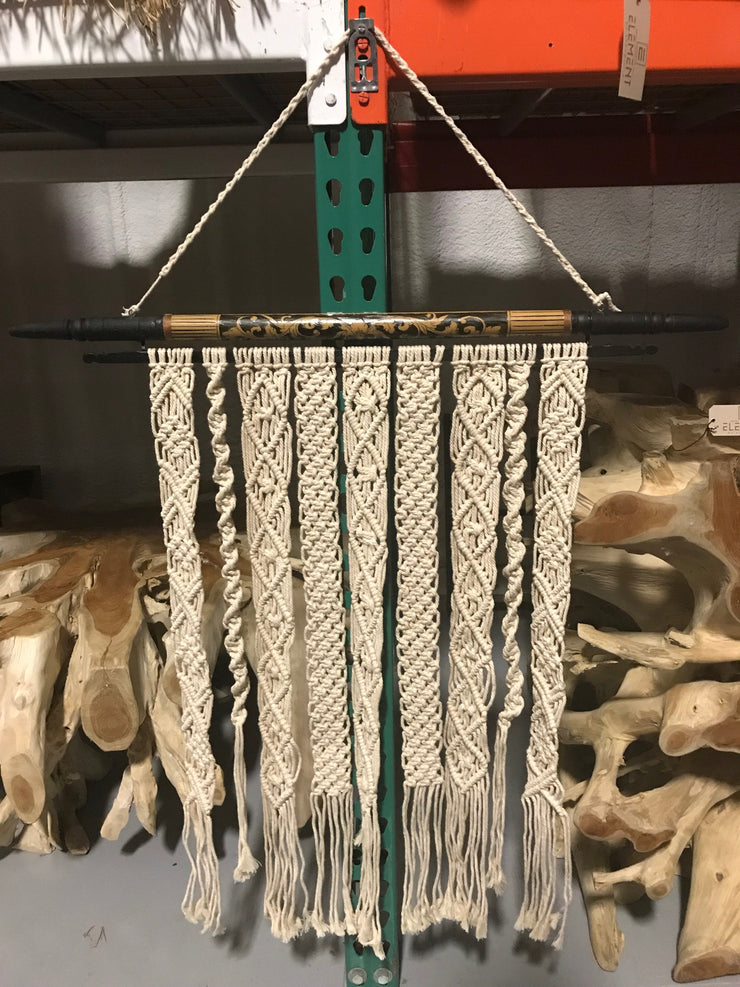 Short Macrame Wall Hanging