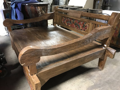 Large Wooden Daybed