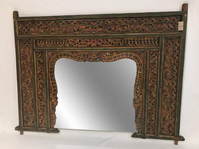 Mirror with Carving