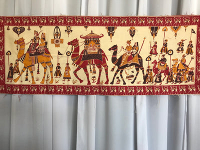 Long Indian Tapestry