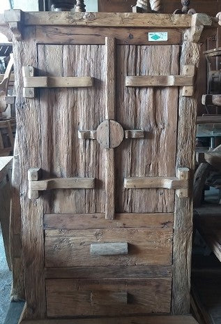 Rustic Wood Cupboard