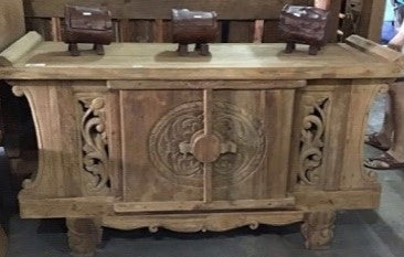 Carved Wood Dresser