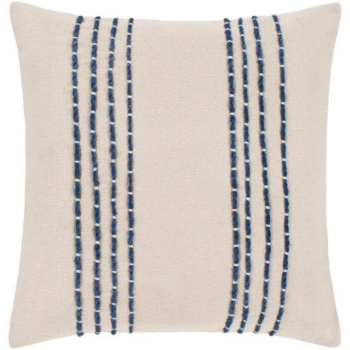 "Emilio Pillow Cover- 22"" x 22"""